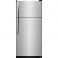 18 cu. ft. Top Freezer Refrigerator in Stainless Steel
